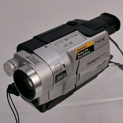 SONY Silver CCD-TRV218E Video 8 Handycam LCD 20x Zoom Camcorder TH281022
