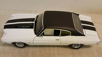 ACME//GUYCAST  1:18 1970 CHEVROLET CHEVELLE ASTRO BLUE NO OUTER BOX READ !!