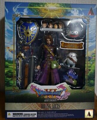 11 THE LUMINARY HERO LIMITED BRING ARTS FIGURE NEW SEALED DRAGON QUEST XI