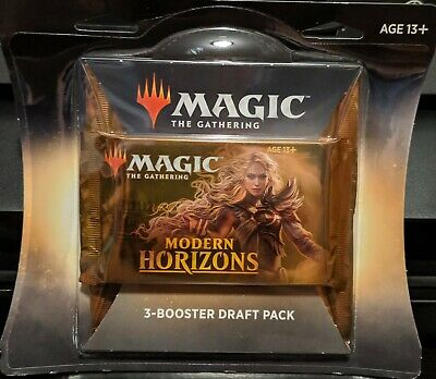Magic The Gathering Modern Horizons 3-Booster Draft Pack