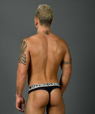 Andrew Christian Thong For Men Cotton Underwear Mens Tanga Signature NA 91215 68