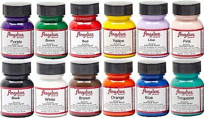 Angelus 1 oz Paint Starter Kit 12 Pack (A720-12)