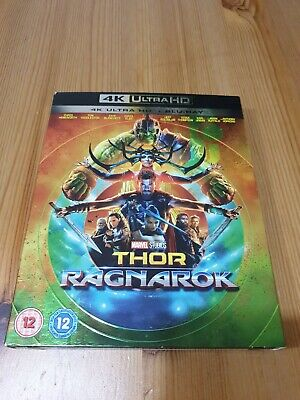 Thor: Ragnarok (4K Blu-ray) Marvel, Chris Hemsworth, Tom Hiddleston
