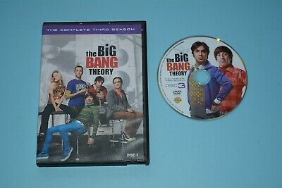 The Big Bang Theory: The Complete Third Season DVD REPLACEMENT DISC 3 ONLY NM