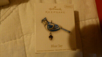 Hallmark Beauty Of Birds Blue Jay Mini NRFB