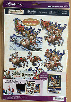 "Hunkydory Kit - ""  Santas Sleigh Ride """