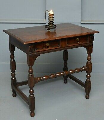 Late 17th / Early 18th Century Oak Side Table