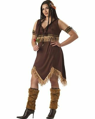 Sexy Native American Indian Princess Women's Halloween Costume, Indian Costume
