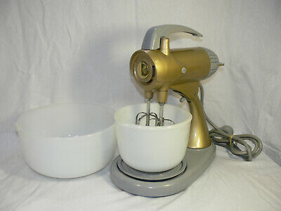 VINTAGE Sunbeam MIXMASTER Model A12 MADE IN AUST c1950s-60s RESTORED Working VGC