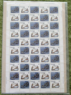 1977 INUIT HUNT Canada 749a+751a sheets incl 749ii SEALED Canada Post Pack CV$60