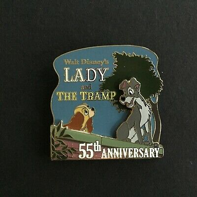 Walt Disney's Lady and the Tramp 55th Anniversary LE 3000 Disney Pin77710