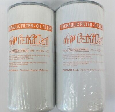 """Spin-On Hydraulic Oil Filter, Optional Head & Gauge 3/4""""  or 1-1/4"""" BSP"""