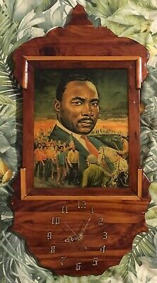 Vintage Martin Luther King Jr. wall clock March from Selma to Montgomery