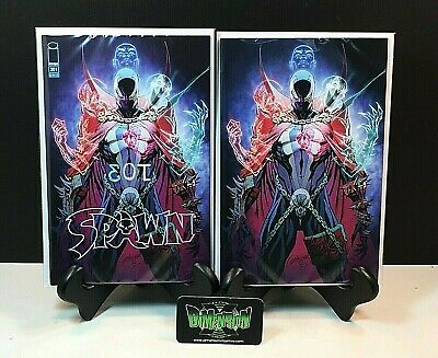 Spawn #301 2 Set Variant Covers O & Virgin P Cover J Scott Campbell 1St Print Nm