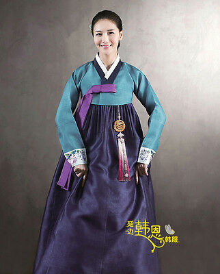 A+ Korean Hanbok Dress Custom Made Traditional Woman Hanbok National Costume Hot