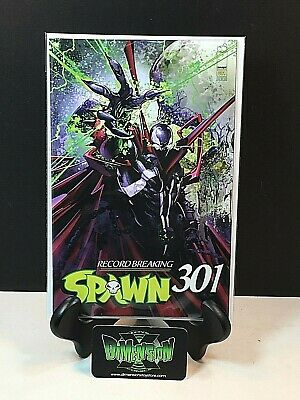 Spawn #301 Cover E Clayton Crain Cover 1St Print Nm Image Unread