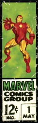 Topps Marvel Collect Digital Series 1 Wave 2 Corner Box Iron Man