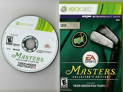 Tiger Woods PGA Tour 13 -- Masters Collector's Edition (Complete) (Xbox 360) VG