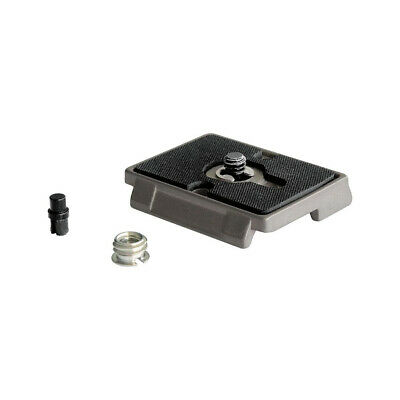 Tripod Quick Release Plate Screw Adapter Mount Head For Manfrotto Camera