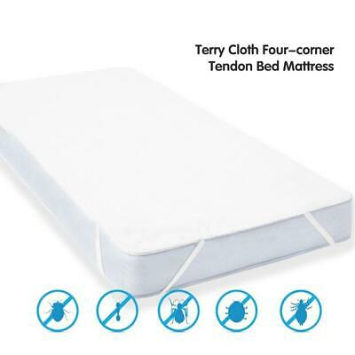 Waterproof Terry Towel Mattress Protector Fitted Sheet Bed Cover All Sizes New