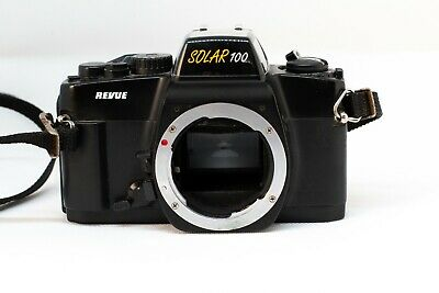 Vintage Camera 35mm Revuenon Solar 100 No need of battery