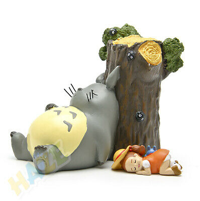 My Neighbor Totoro By the Tree Mei Rest Action Figure Gift Resin Toys 2pcs/set