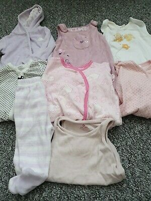Girls Newborn, Up To 1 Month, First Size Bundle *Combined  Postage*