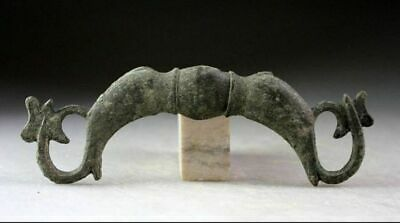 *SC*A LARGE ROMAN FIGURAL BRONZE OF TWO FISHES, 3rd. cent AD!!