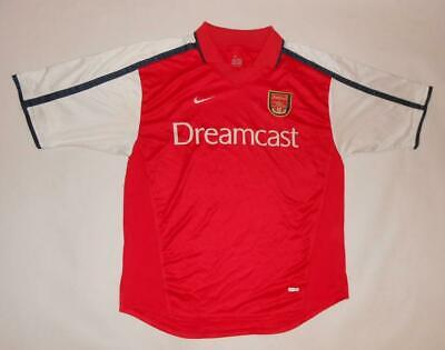 HOME SHIRT NIKE ARSENAL LONDON 2000-02 (L) Jersey Trikot Maillot Maglia Camiseta