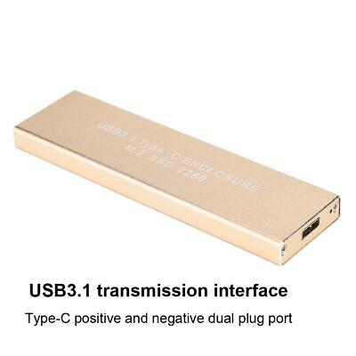 M.2 to USB 3.1 Type-C Hard Drive to USB Mobile Hard Disk For 30mm/42mm/60mm/80mm