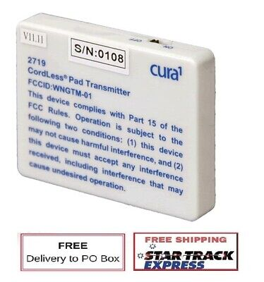 2719 Cura1 Cordless Pad Transmitter - Fall Prevention