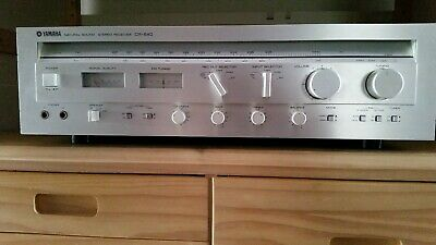 Vintage Yamaha Stereo Receiver Model CR 640 NS SERIES