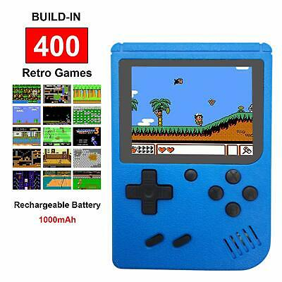 """New Retro FC Game Console 400 NES Classic Games 3"""" Portable Handheld Gameboy"""