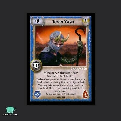 Hand of Power Warlord Saga of the Storm SotS CCG