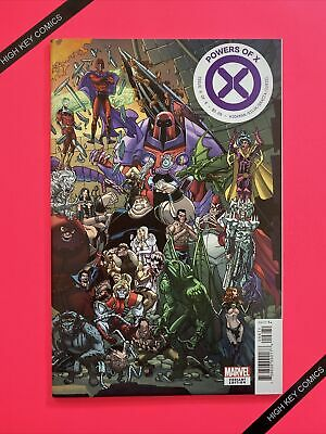Powers Of X #6 Variant Javier Garron Connecting Cover E Marvel 2019 NM