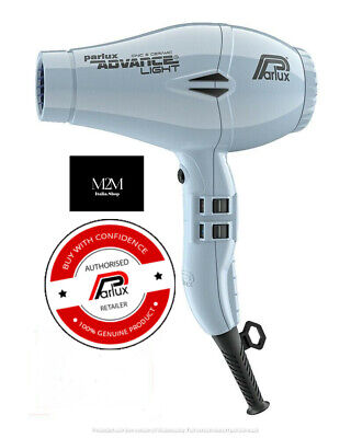 Phon Asciugacapelli Professionale Parlux Advance Light Ionic e Ceramic GHIACCIO