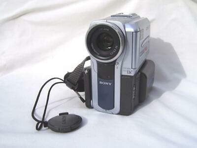 Sony DCR-PC9E MiniDV Tape Camcorder Focus Ring, Av/DV-in. Exnt cond. 1-yr warnty