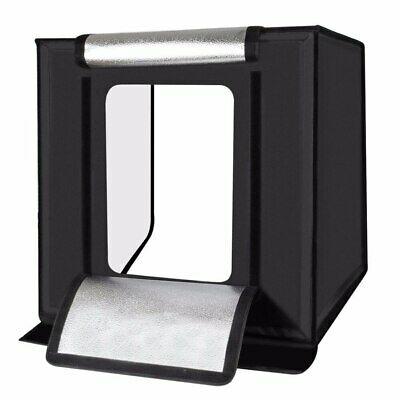 Light Box LED 70*70CM Portable Photo Studio With 4 Color Background For Photo