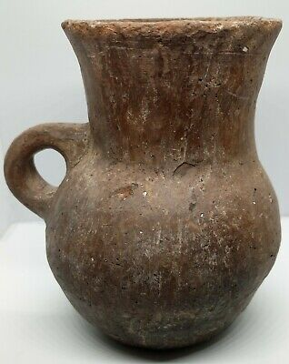 Pottery Jug / Cup Scythian  145mm. 600-100BC. Clay / Rare