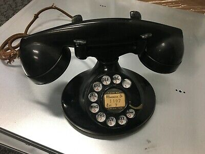 Antique Vintage BELL System WESTERN ELECTRIC F-1 Rotary Telephone NICE ONE!