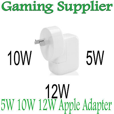 Apple 5W 10W 12W USB Power Adapter Wall for Fast Charger 5 6 Plus 7 8 iPad air