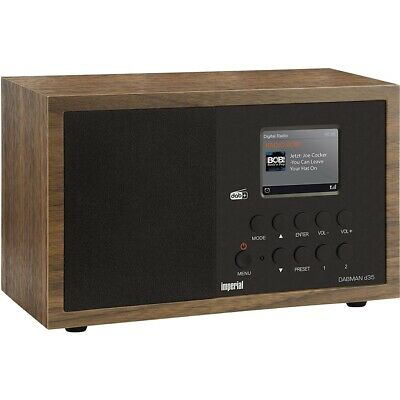 Imperial DABMAN d35 Digitalradio braun