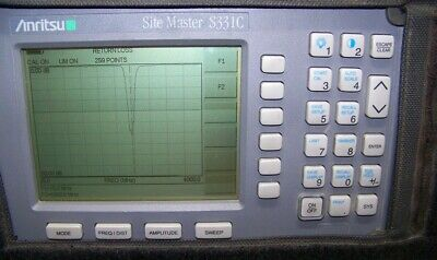 Nice Anritsu S331C Site Master with new Display,Battery,Charger 4GHz Full Test!