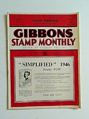 Gibbons Stamp Monthly Jan 1946-The Colour Problem,Europe-Post Liberation Issues