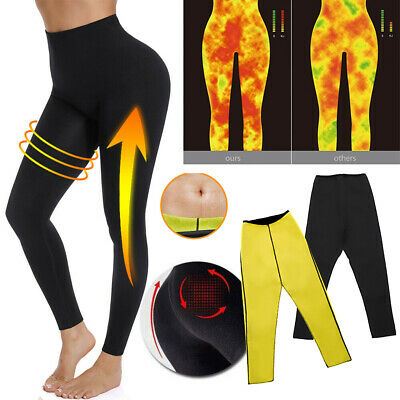Hot Sweat Sauna Body Shaper Pants Neoprene Women Slimming Thermo Gym Trousers US