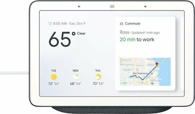 Google - Home Hub With Google Assistant - Charcoal - Ga00515-Us  *Brand New*