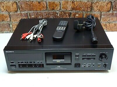 Sony DTC-A6 DAT Digital Audio Tape Recorder - Player + Remote Control & Cables