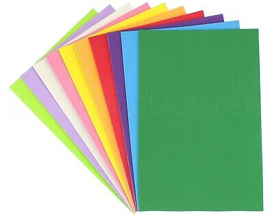 "Craft Foam Sheets - 8"" x 12"" - Large Self Adhesive Pads - Pick Color - 10 50 Pcs"