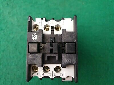 Moeller DIL 00M Contactor 24 VAC Coil 20 Amp
