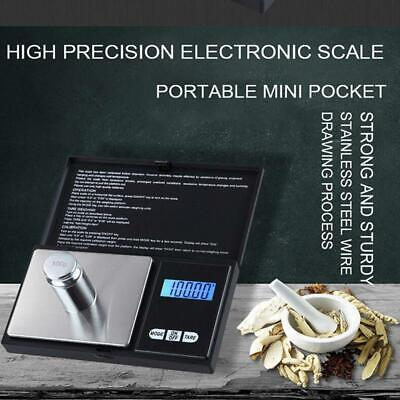 New LCD Digital Pockets Scale Jewelry Gold Gram Balance Scale 100g*0.01g We O5Y2